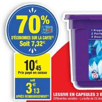 Lessive Dash Pods 3en1 chez Carrefour Market (29/04 – 12/05)