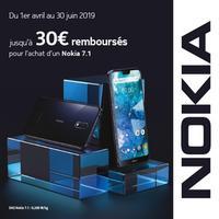 Offre de Remboursement Nokia : Jusqu'à 30€ Remboursés sur Smartphone 7.1