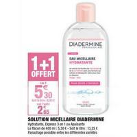 Eau Micellaire Diadermine chez Carrefour Market (03/05 – 26/05)