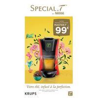 Offre de Remboursement Krups : Machine Master.T à 99€