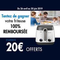 Offre de Remboursement DéLonghi : Jusqu'à 20€ sur Friteuse