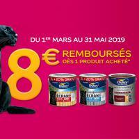 Offre de Remboursement Dulux Valentine : Jusqu'à 8€ sur Peinture multi-supports Extérieure