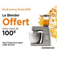 Bon Plan Kenwood : Blender Offert