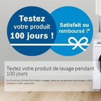 Offre d'Essai Bosch : Votre Produit 100% Satisfait ou 100% Remboursé