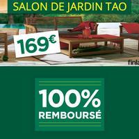 Salon de Jardin TAO 100% Remboursé chez Géant Casino (02/04 – 28/04)