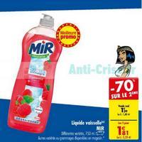 Liquide Vaisselle Mir chez Carrefour (09/04 – 22/04)