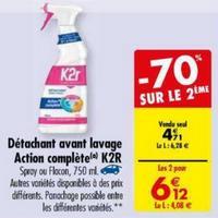 Détachant K2r chez Carrefour (09/04 – 22/04)