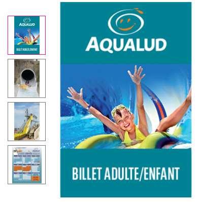 Aqualud le Touquet : entrées à 9 et 11€ ( au lieu de 14.99, 19.99€)