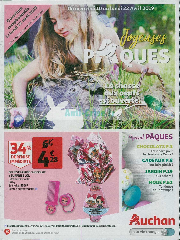 Catalogue Auchan du 10 au 22 avril 2019