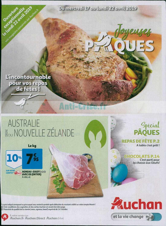 Catalogue Auchan du 17 au 22 avril 2019