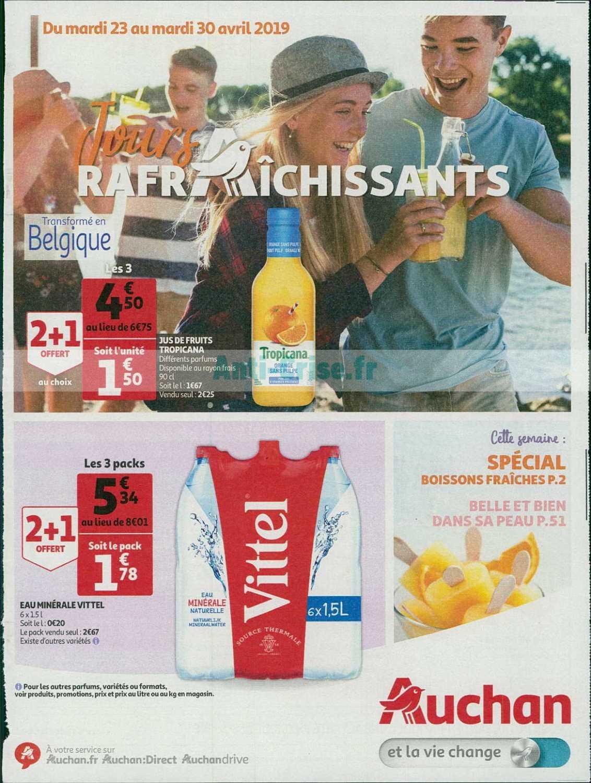 Catalogue Auchan du 23 au 30 avril 2019