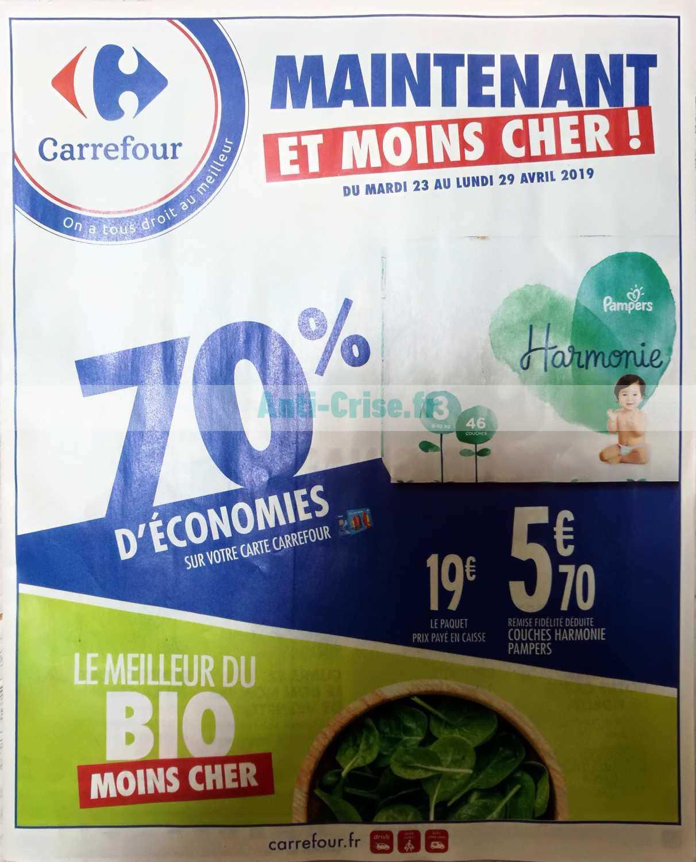 Catalogue Carrefour du 23 au 29 avril 2019
