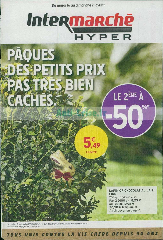 Catalogue Intermarché du 16 au 21 avril 2019 (Version Hyper)