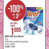 Bloc WC Bref chez Géant Casino (23/04 – 05/05)