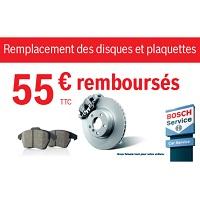 Offre de Remboursement Bosch : Vos Plaquettes Jusqu'à 100% Remboursées