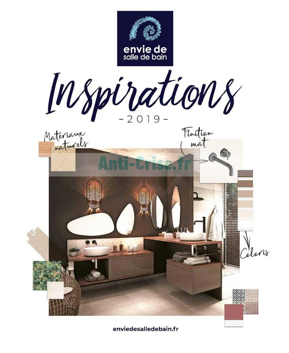 catalogue envie de salle de bain du 01 janvier au 31. Black Bedroom Furniture Sets. Home Design Ideas