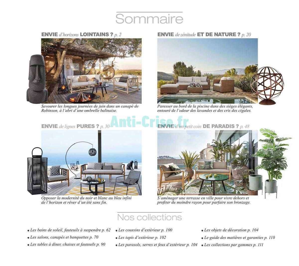 catalogue maisons du monde du avril au dcembre maisons du. Black Bedroom Furniture Sets. Home Design Ideas