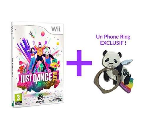23,9€ le jeu Just Dance 2019 + porte clé pour WII