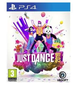 Moins de 20€ le jeu JUST DANCE 2019 Xbox one, PS4 et Wii