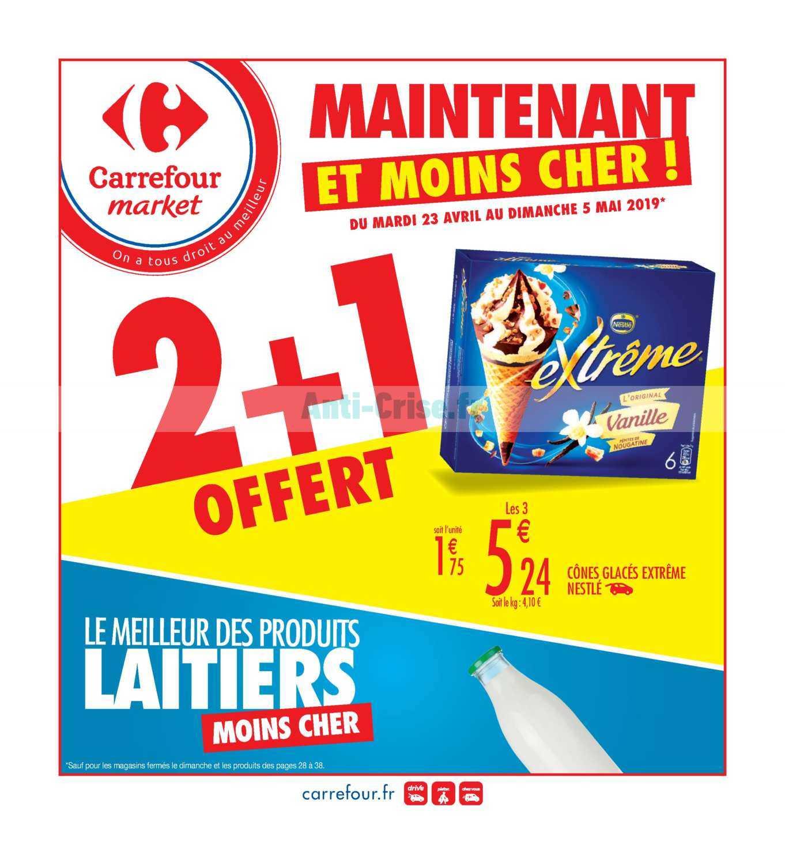 Catalogue Carrefour Market du 23 avril au 05 mai 2019