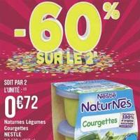 Bols Légumes Naturnes Nestlé chez Géant Casino (23/04 – 05/05)