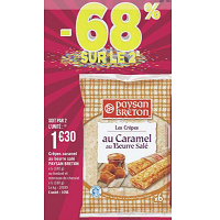 Crêpes Paysan Breton chez Géant Casino (23/04 – 05/05)