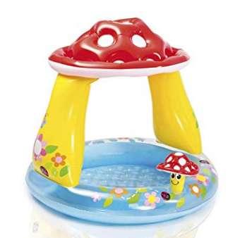 Moins de 10€ la piscine champignon Intex