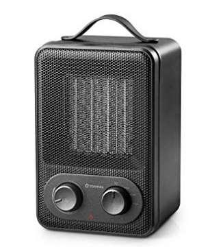 16,5€ le mini radiateur soufflant 1800 watts