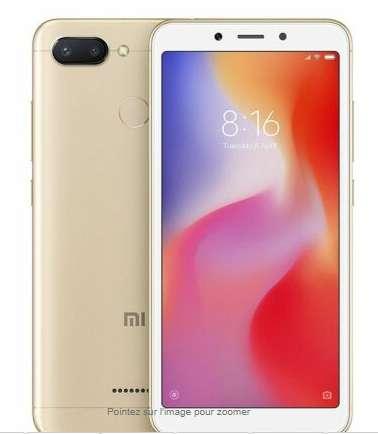Smartphone Xiaomi Redmi 6 3 – 32go à 94.99€