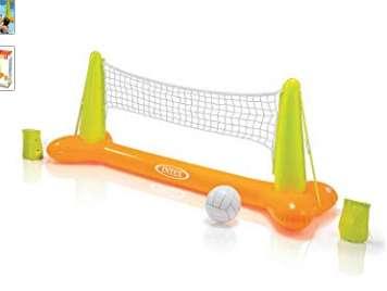 8,99€ le filet de volley gonflable Intex pour piscine