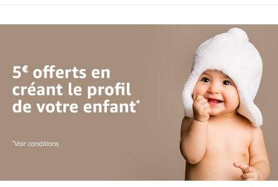 Amazon : code réduction jouets puériculture  5/20€   ( certains comptes)