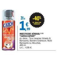 Insecticide aérosol Catch chez Leclerc (14/05 – 25/05)