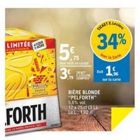 Pack de Bière Pelforth Blonde chez Leclerc (14/05 – 25/05)