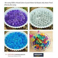 Bon Plan Jelly Water Pearl à 0,82€ les 5 000 Perles chez Amazon