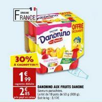 Yaourt aux fruits Danonino chez Atac (22/05 – 27/05)
