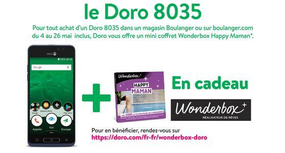 Doro Mini Coffret Wonderbox Happy Maman Offert Pour Lachat Dun