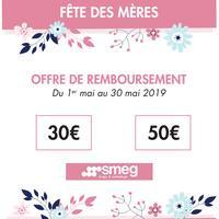 Offre de Remboursement smeg : Jusqu'à 50€ Remboursés