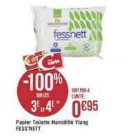 Papier Toilette humide Fess'nett chez Géant Casino (21/05/2019 – 02/06/2019)