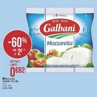 Mozzarella Galbani chez Géant Casino (21/05/2019 – 02/06/2019)