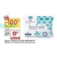 Papier Toilette humide Fess'nett chez Casino (21/05 – 02/06)