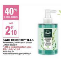 Savon Liquide N.A.E. chez Carrefour Market (20/05 – 26/05)
