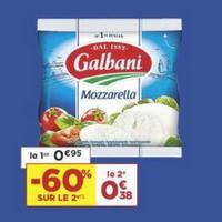 Mozzarella Galbani chez Casino (21/05 – 02/06)