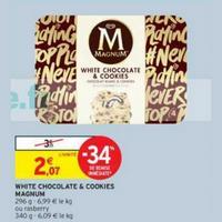 Glace White Magnum chez Intermarché (14/05 – 26/05)