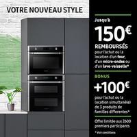 Offre de Remboursement Samsung : Jusqu'à 250€ Remboursés sur Four et/ou Micro-ondes et/ou Lave-vaisselle