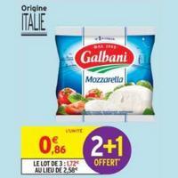 Mozzarella Galbani chez Intermarché (14/05 – 26/05)