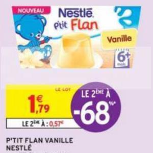 P'tit Flan Nestlé Bébé chez Intermarché (14/05 – 26/05)