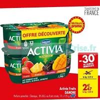 Yaourt aux Fruits Activia chez Carrefour (21/05 – 27/05)