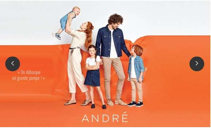 Bon plan André : 14.99€ le bon d'achat de 50€