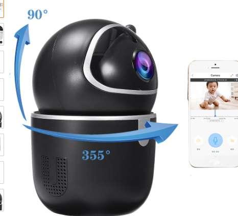 16€ la caméra de surveillance wifi