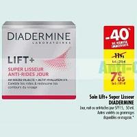 Crème Lift+ Diadermine chez Carrefour (14/05 – 26/05)